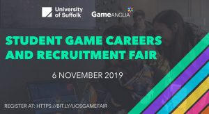 University of Suffolk Game Anglia 2019 Announcement